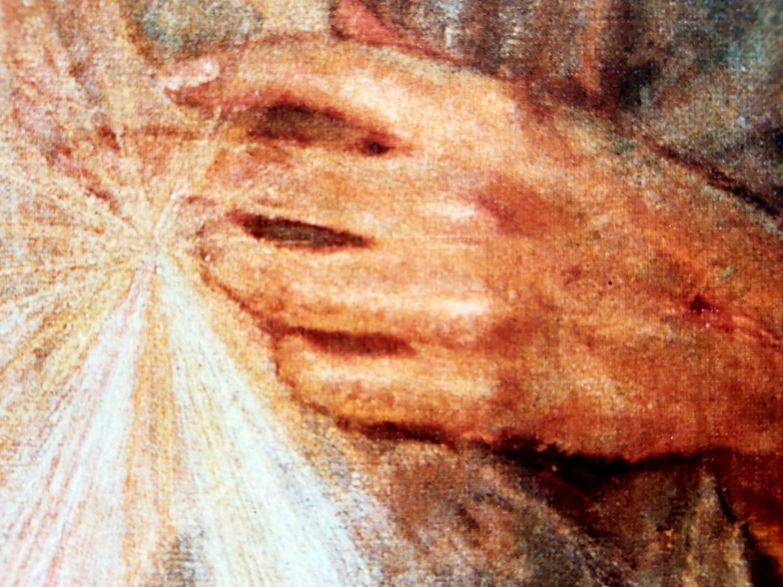 Strahlen-Hand
